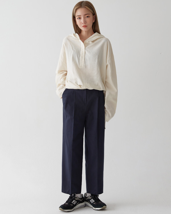 corn wide cotton pants (s, m)