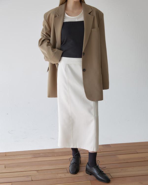 noten over fit single jacket
