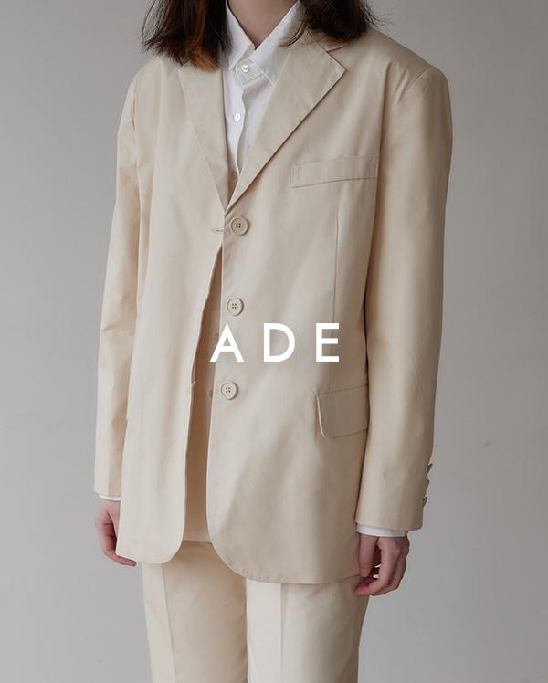 clean cotton jacket