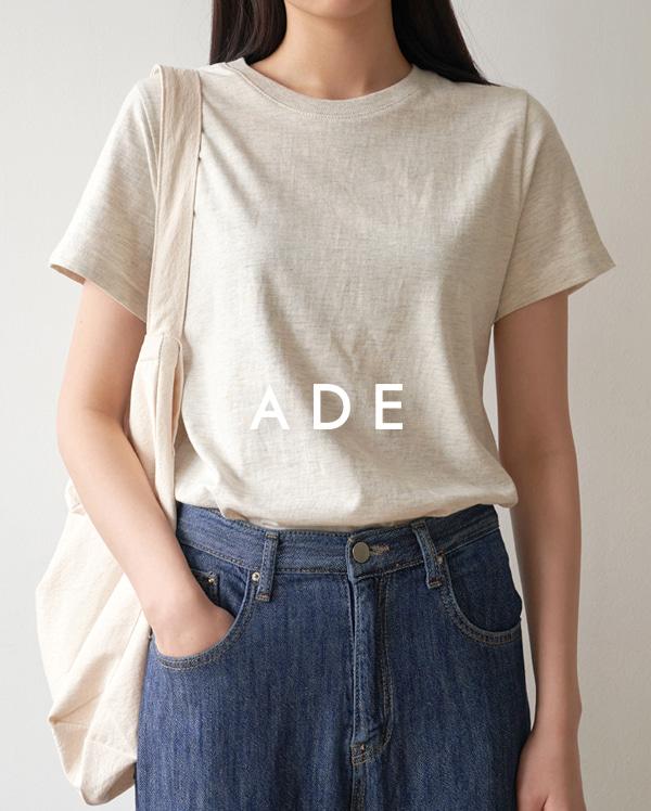 [1+1] pure cotton T
