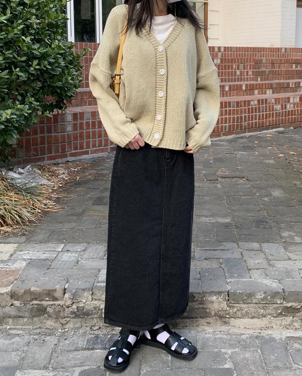 maple H-line long skirts (s, m, l)