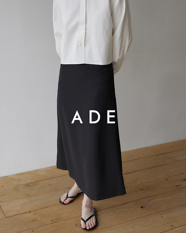 pozy long A-line skirts (s, m)