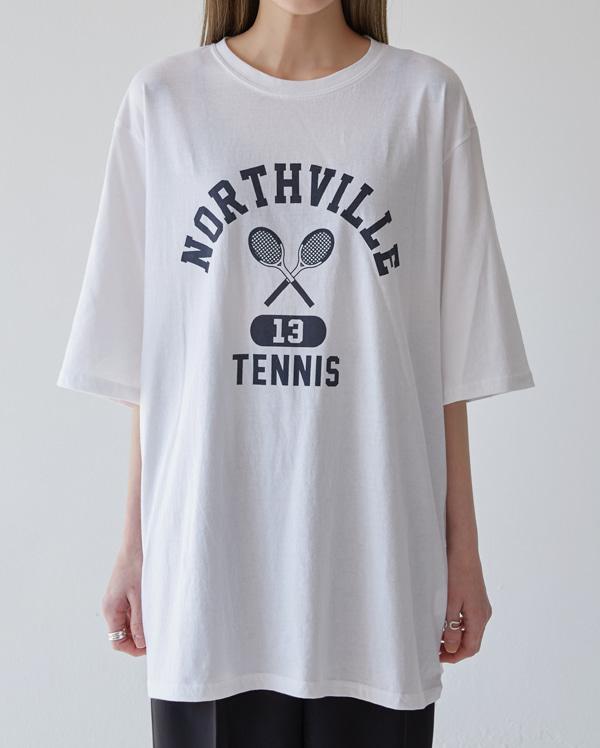simpo casual tennis T
