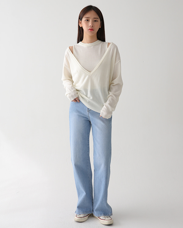 demour two way knit