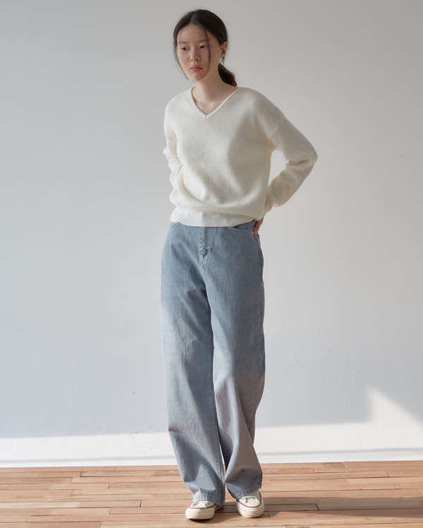 point color wide pants (s, m, l)