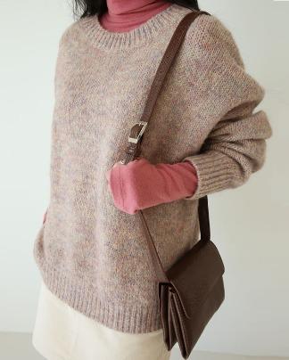 two leather square shoulder bag