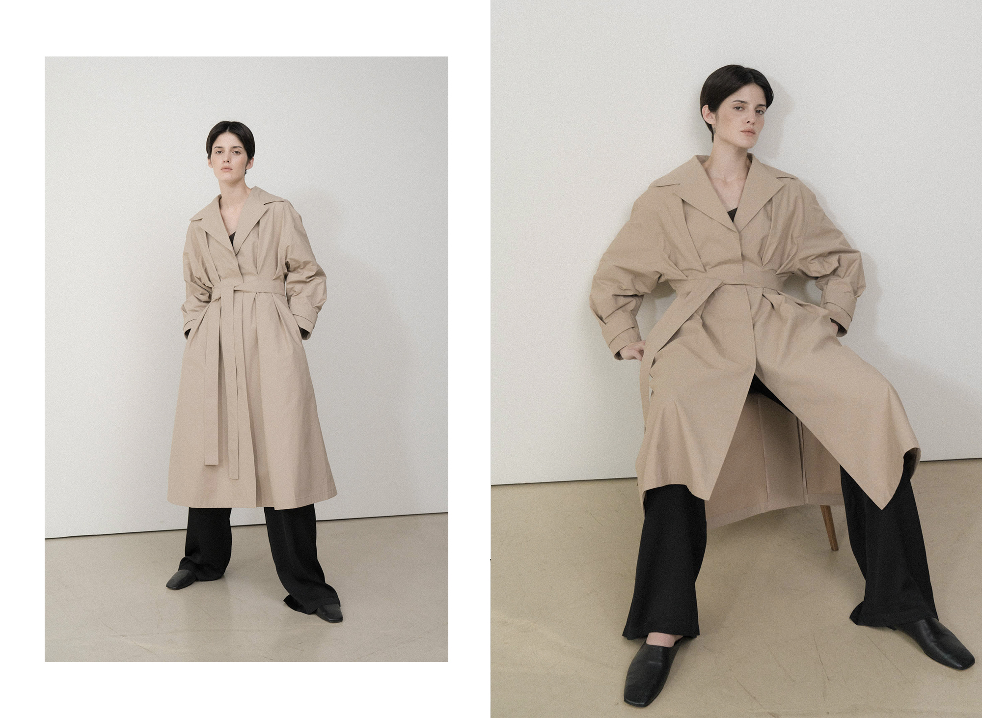 The gaia trench coat