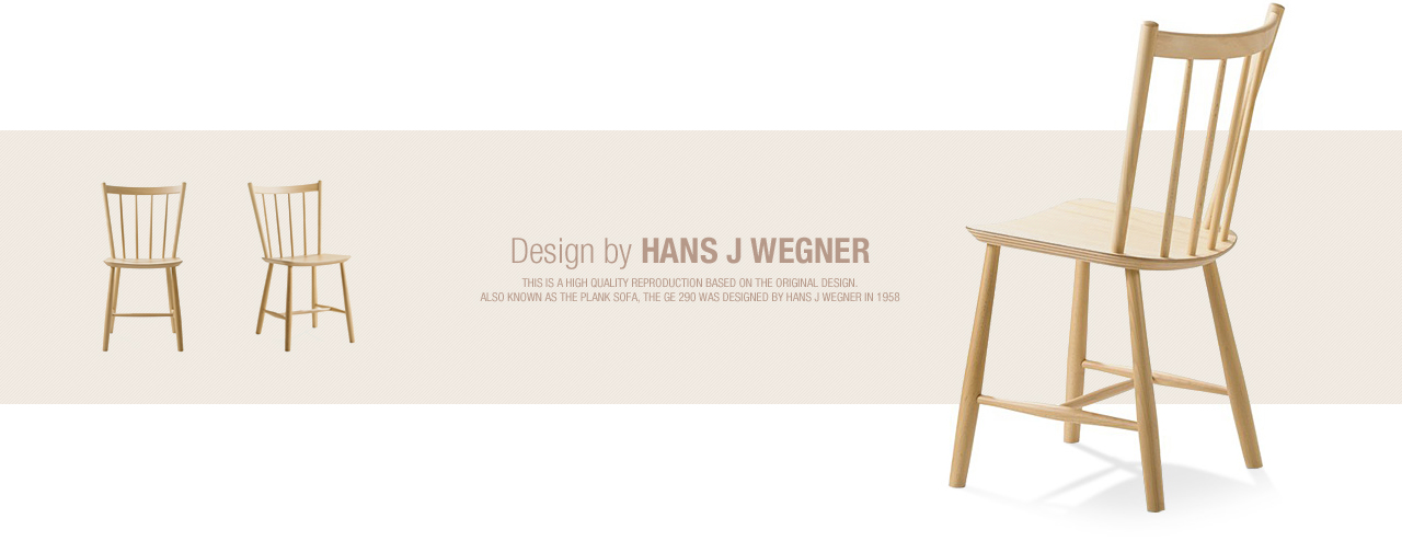 Design by Hans J Wegner