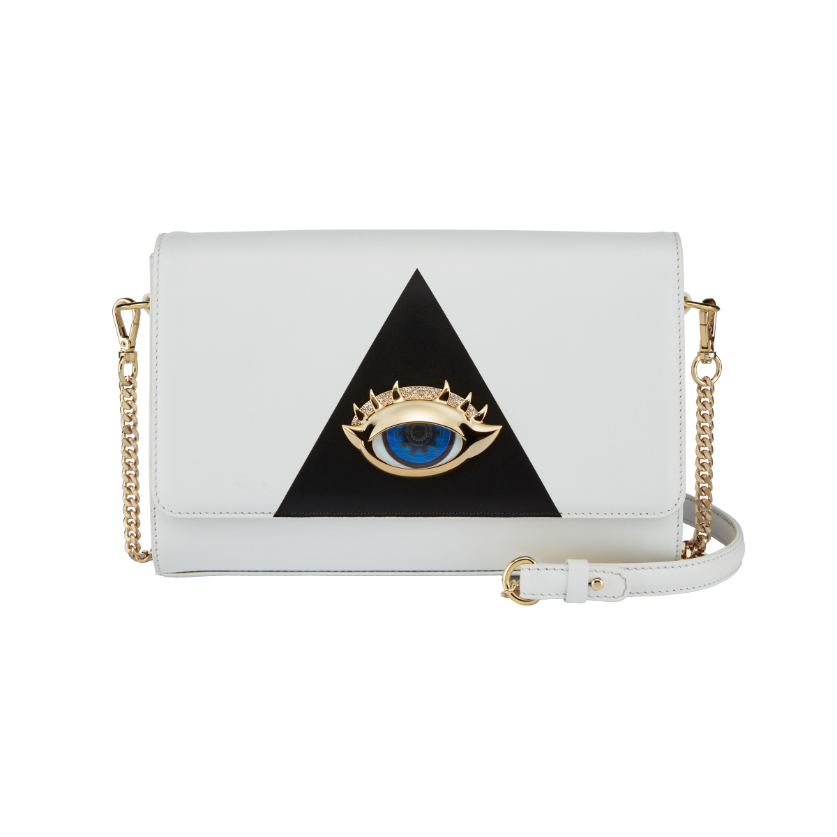 Holy White Crossbody Bag