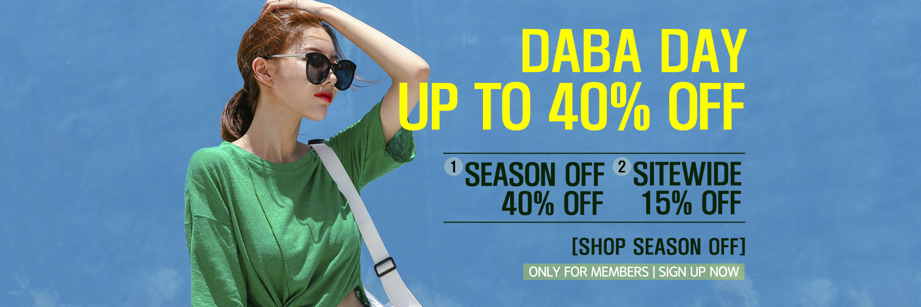 0716 daba day sale