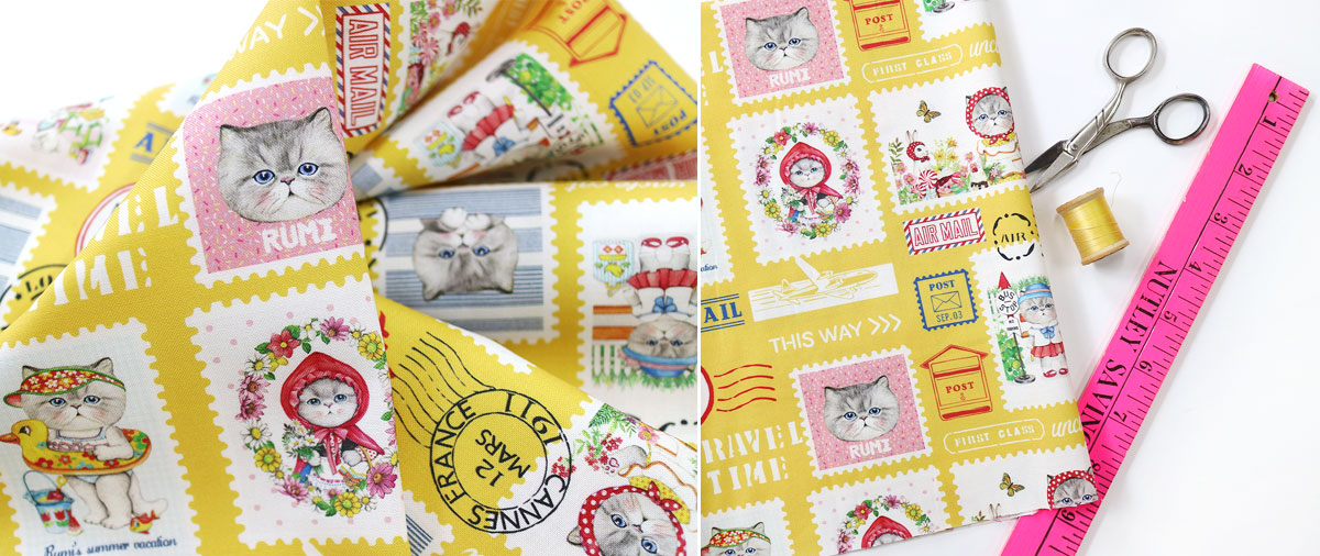 Pattern - Rumi collects stamps