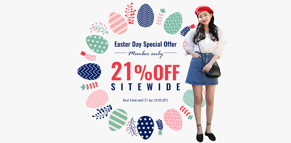 easterday 21%off