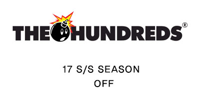 THE HUNDREDS 30%OFF