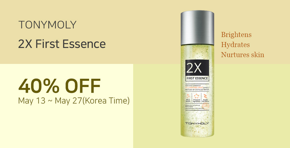 [TONYMOLY] 2X First Essence 40% OFF