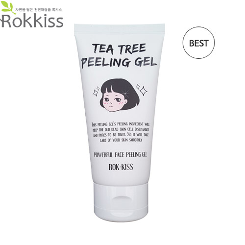 ROK KISS Tea Tree Peeling Gel 120ml [NEW],ROK-KISS