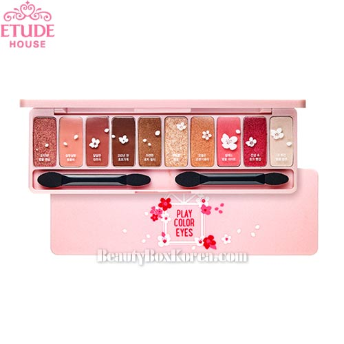 ETUDE HOUSE Play Color Eyes Cherry Blossom 1g*10ea ,ETUDE HOUSE