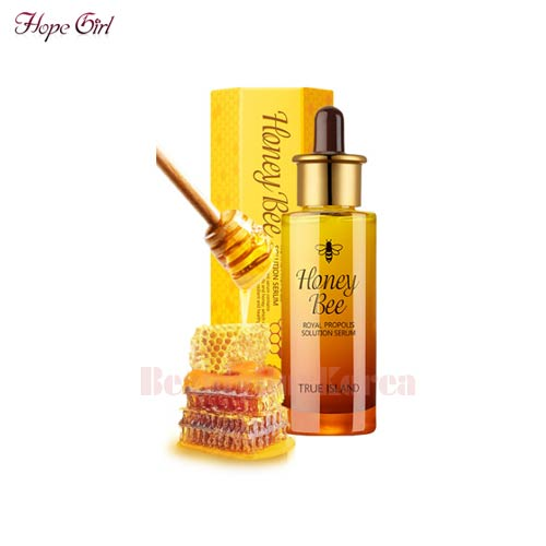 HOPE GIRL True Island Honey Bee Royal Propolis Solution Serum 40ml,HOPE GIRL