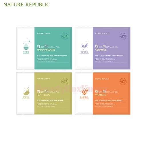 NATURE REPUBLIC Real Comforting Mask Sheet 24g*10ea,NATURE REPUBLIC