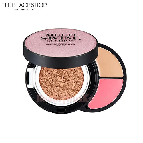 THE FACE SHOP Multi Swing Cushion 15g+1.2g+1.2g,THE FACE SHOP
