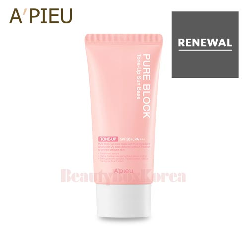 A'PIEU Pure Block Tone-Up Sun Base SPF50+/PA+++ 50ml,A'Pieu