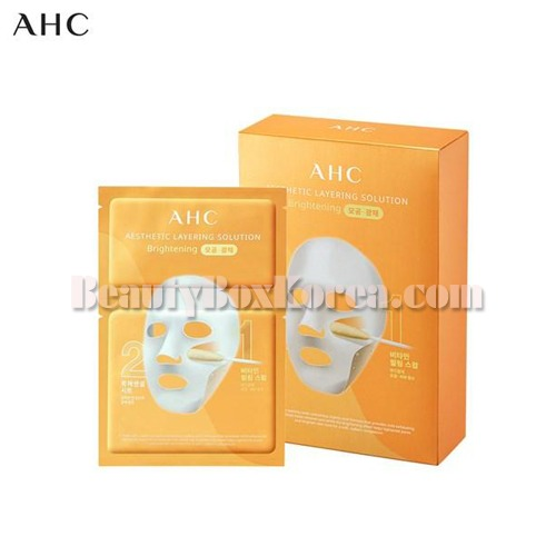 AHC Esthetic Layering Solution Mask Brightening 0.9g+18g*10ea[Online Excl.],AHC