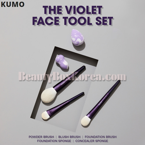KUMO X SSIN The Violet Face Tool Set 5items,KUMO