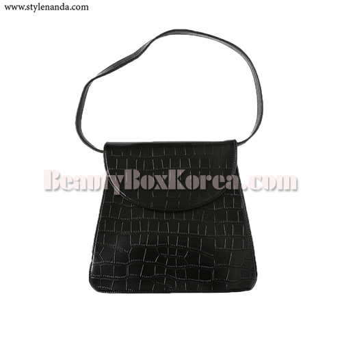 STYLENANDA Textured Front Flap Shoulder Bag 1ea,STYLE NANDA