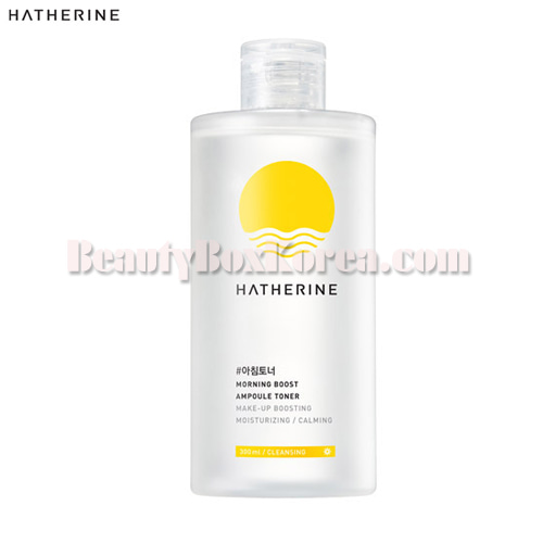 HATHERINE Morning Boost Ampoule Toner 300ml,HATHERINE