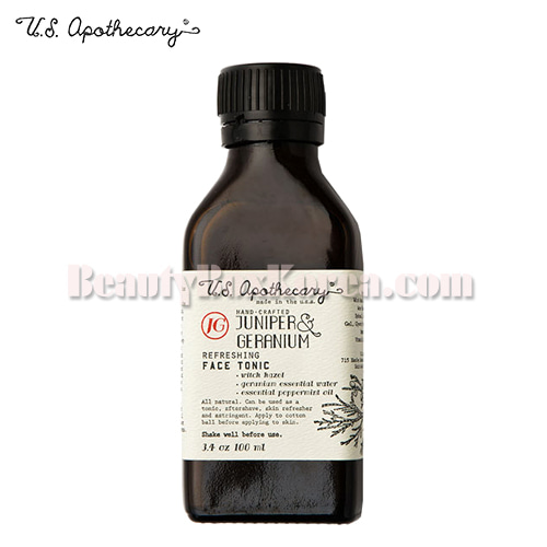 U.S. APOTHECARY Juniper&Geranium Face Tonic 100ml,Other Brand