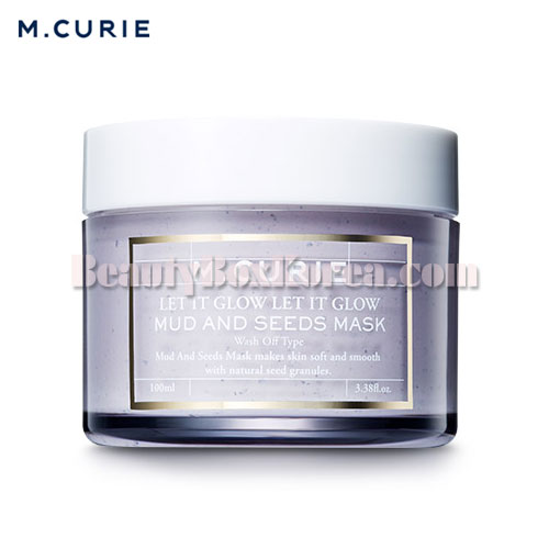 M.CURIE Mud And Seeds Mask 100ml,Other Brand