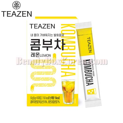 TEAZEN Kombucha Lemon 5g*10Sticks