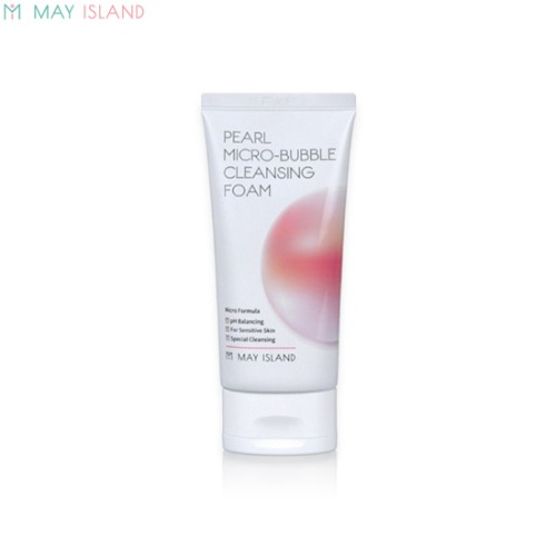 MAY ISLAND Pearl Micro-Bubble Cleansing Foam 120ml