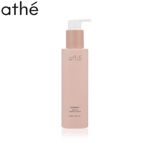 ATHE Authentic Pink Vita Foaming Cleanser 180ml
