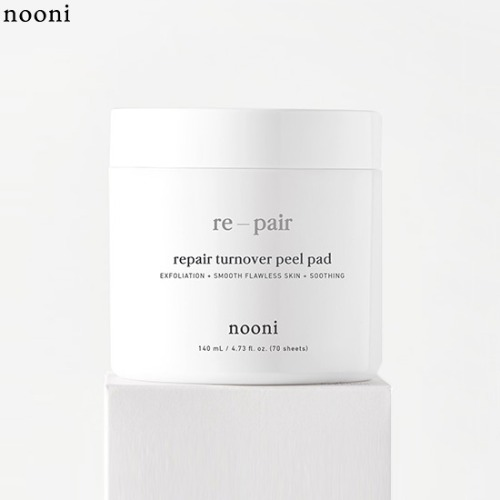 NOONI Re-pair Turnover Peel Pad 70ea 140ml