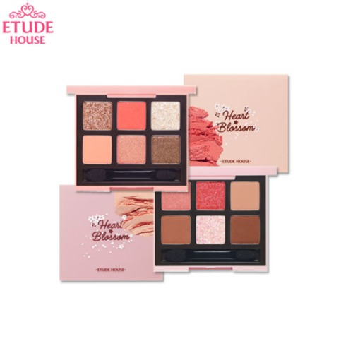 ETUDE HOUSE Play Color Eyes Heart Blossom 0.7g*6colors [S/S Heart Blossom Collection]