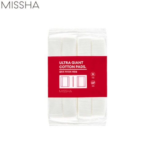 MISSHA Ultra Giant Cotton Pads 400ea