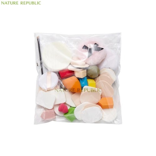 NATURE REPUBLIC Beauty Tool Lucky Puff Set 35items