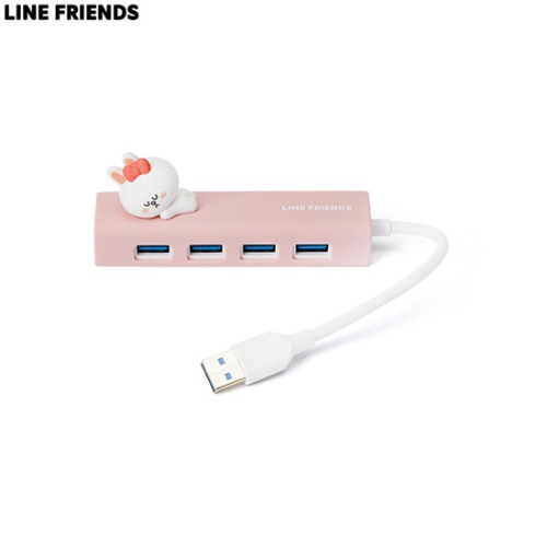 LINE FRIENDS Mini Figure USB 3.0 Hub 1ea