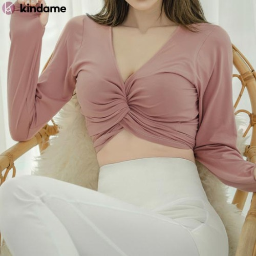 KINDAME FWC Finger Hole Wrap Cardigan #Pink 1ea,Beauty Box Korea