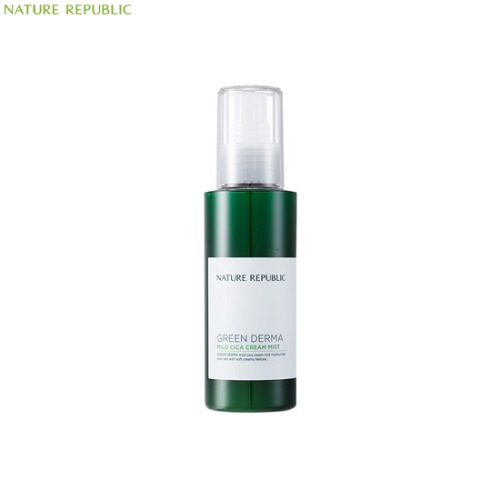 NATURE REPUBLIC Green Derma Mild Cica Cream Mist 125ml