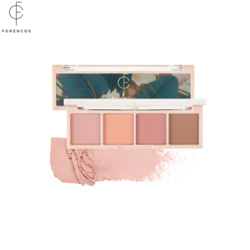 FORENCOS Bare Shadow Palette 01 Pale 6g