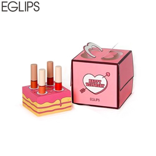 EGLIPS Happy Velthday Cake Set 4items