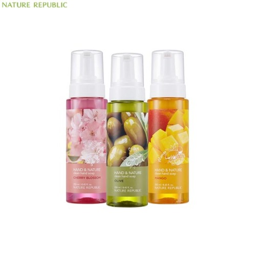 NATURE REPUBLIC Hand & Nature Clean Hand Soap 250ml