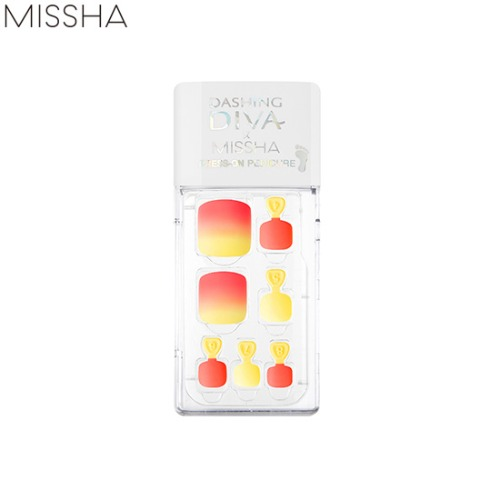 MISSHA DASHING DIVA Magic Press Super Slim Fit Pedi 1set
