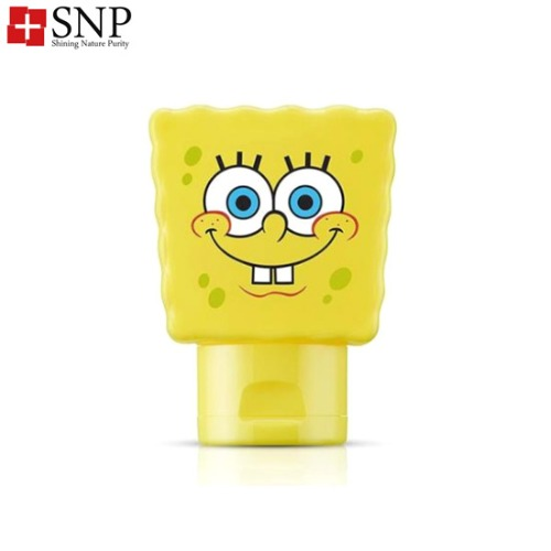 SNP UV Perfect Air-Cool Sun Gel Spongebob SPF50+ PA++++ 80ml