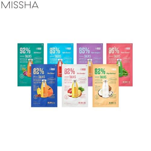 MISSHA Talks Vegan Squeeze Sheet Mask 27g