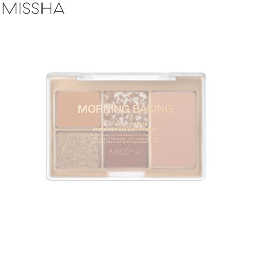 MISSHA Easy Filter Shadow Palette #4 Morning Baking 9.9g [Slow Home Cafe Edition]