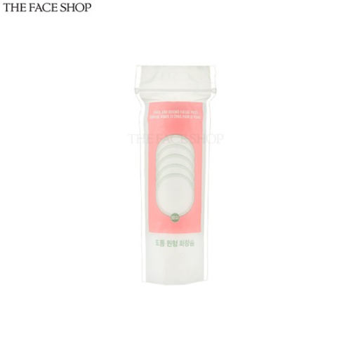 THE FACE SHOP Thick And Round Facial Pads 80ea
