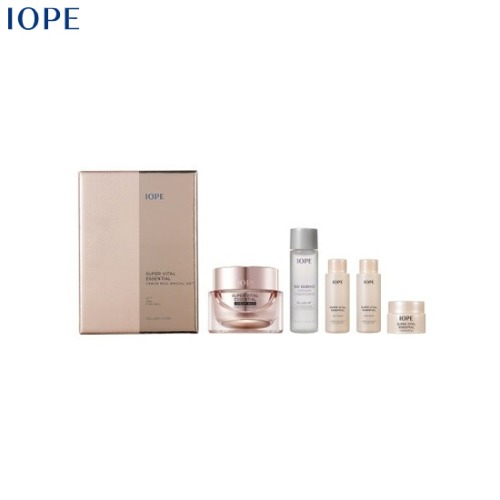 IOPE Super Vital Essential Cream Rich Special Gift Set 5items