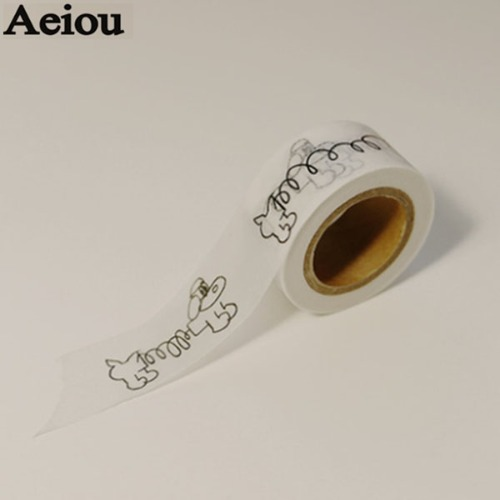 AEIOU Ding Ding Masking tape 1ea [Duelmarlin of Aeiou],Beauty Box Korea